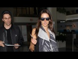 Traveling Solo Alessandra Ambrosio Keeps Her Cool Amid All The Cameras