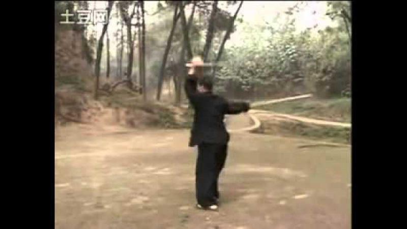 陳自強 雙鐧 套路 演示 Tai Chi double-mace