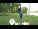 Как прыгнуть на 360 на роликах askroller