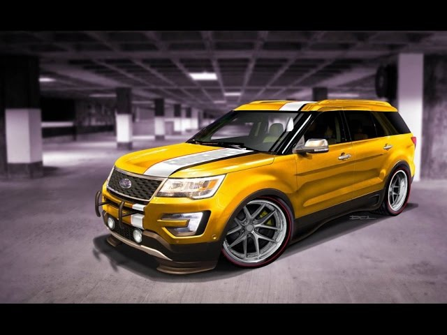 Ford Edge Tjin Edition concept (Обзор Авто) | AutoReview