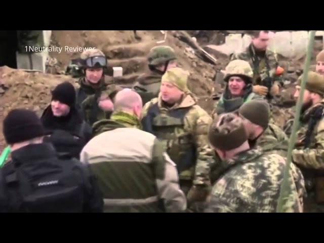Турчинов назвал Кубань украинской землей, а боевики «Азова» предложили двинуться на Москву (ВИДЕО)