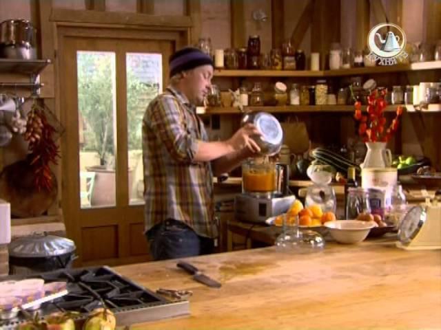 Джейми Оливер у себя дома.Тыквы