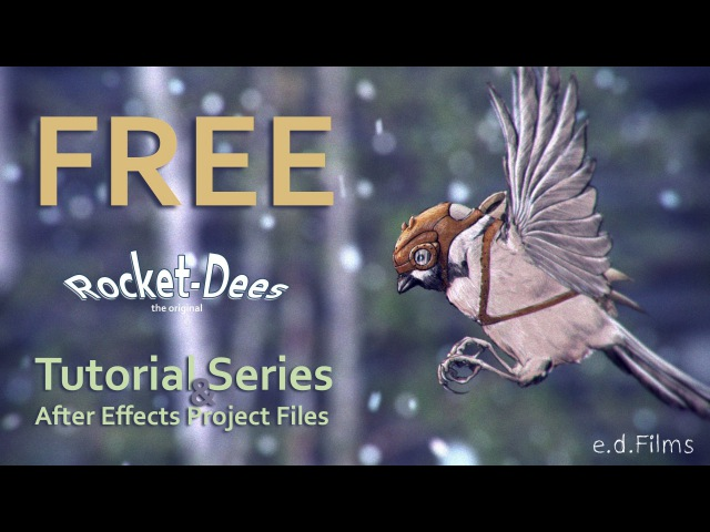Course Materials | How To Animate a Flying Rocket-Dee with Adobe After Effects | Animation Tutorial