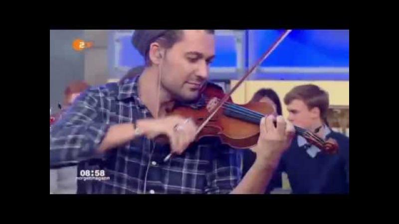 "David Garrett - ""Dangerous"" - ZDF Morgenmagazin MOMA 13.10.15"