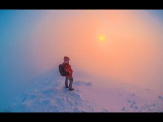 Утро на вершине горы Бештау.