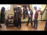 Lil Basix aka Vandal @ the Krump Workshop in Saint Louis at UCanDance