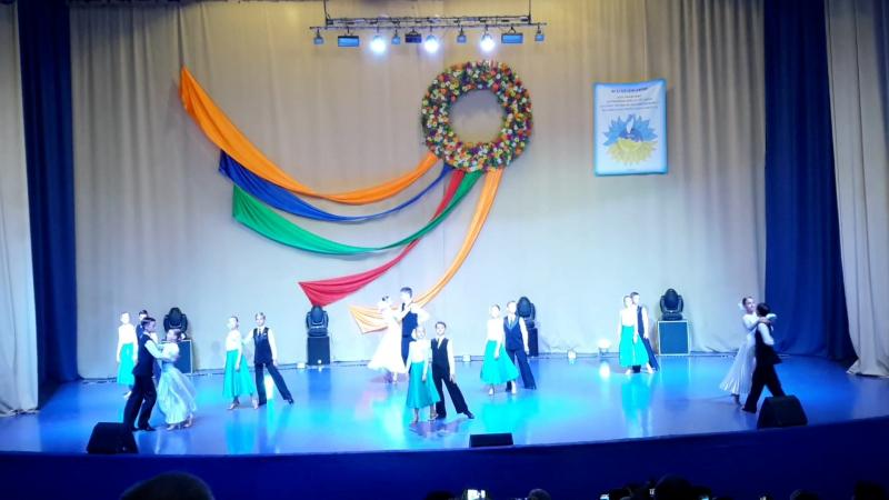 Молодая Гвардия бальные танцы вальс У черного моря смотреть онлайн без регистрации