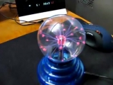 Плазменный Шар - светильник электрический шар Тесла с молниями (usb плазменная лампа)     http://ali.pub/d8gtk