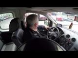 Стресс-тест BDSM в такси (БДСМ такси почти что порно в машине)