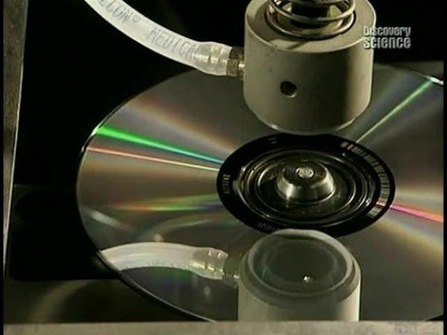 Как это работает? Компакт диск.