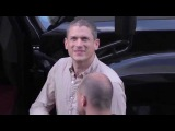 Wentworth Miller greets fans at Comic Con