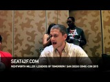 Wentworth Miller LEGENDS OF TOMORROW Comic Con 2015 Interview