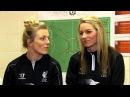 Gemma Bonner and Kate Longhurst appear on Sportswomen show
