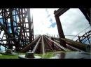 Le Monstre Wooden Roller Coaster POV Front Seat On-Ride La Ronde Montreal Canada 1080p HD