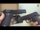 Пневматический пистолет Кольт М1911 А1 и Heckler and Koch USP
