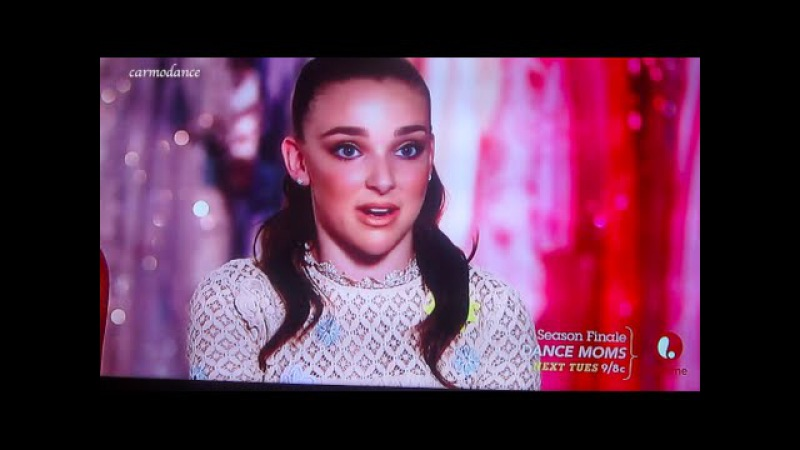 Kendall Vertes Talks about Chloe Lukasiak (Kendall Throwback Special on Dance Moms)