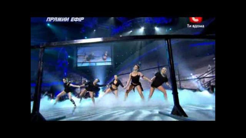 Танцуют все-3 Групповой танец девушек (26.11.2010).avi