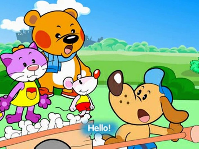 Hello Teddy S1E1: Hello, what's your name?