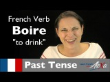 Boire (to drink)  Past Tense (French verbs conjugated by Learn French With Alexa)