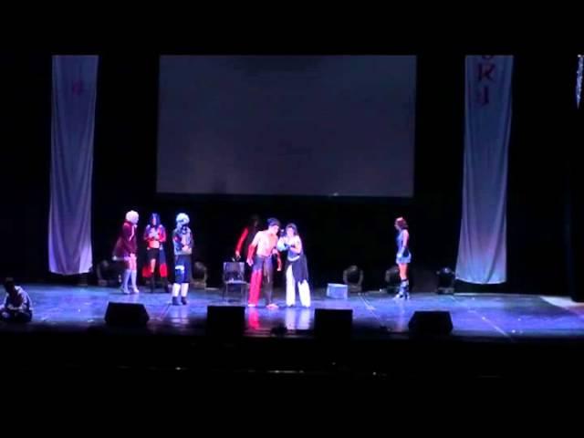 Animatsuri '12. Boyan Project. сценка - Белоснежка и 7 гномов.avi