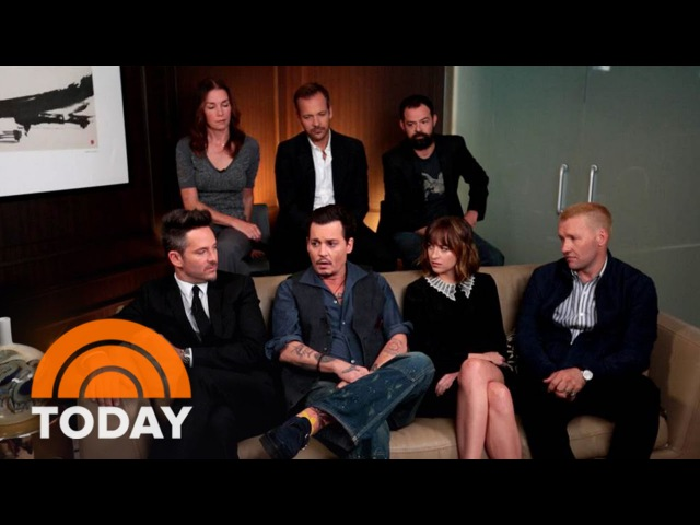 Johnny Depp, Cast, Director Chat Creative Freedom In 'Black Mass' | TODAY