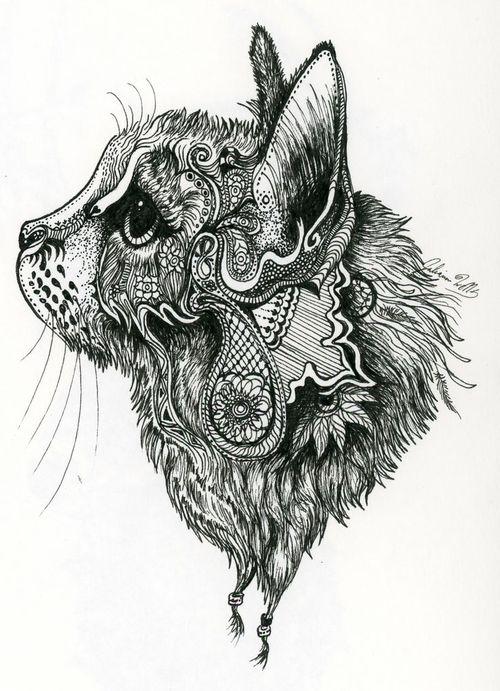 zentangle lion tattoo ideas pinterest zentangle malvorlagen und l we. Black Bedroom Furniture Sets. Home Design Ideas