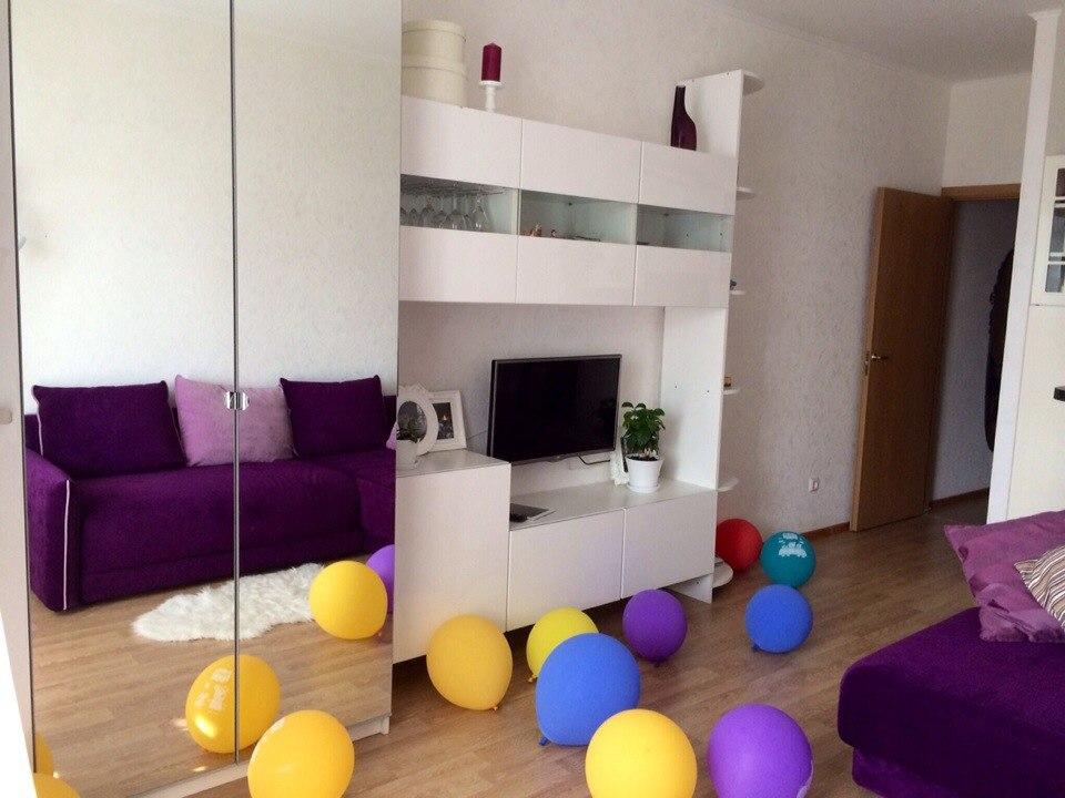 От группы: уютная и праздничная квартира-студия от участницы группы Виктории!