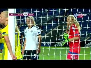 Чемnионат Евроnы 2015 | Девушки до 19 | Полуфинал | Германия - Швеция [24.05.2015]