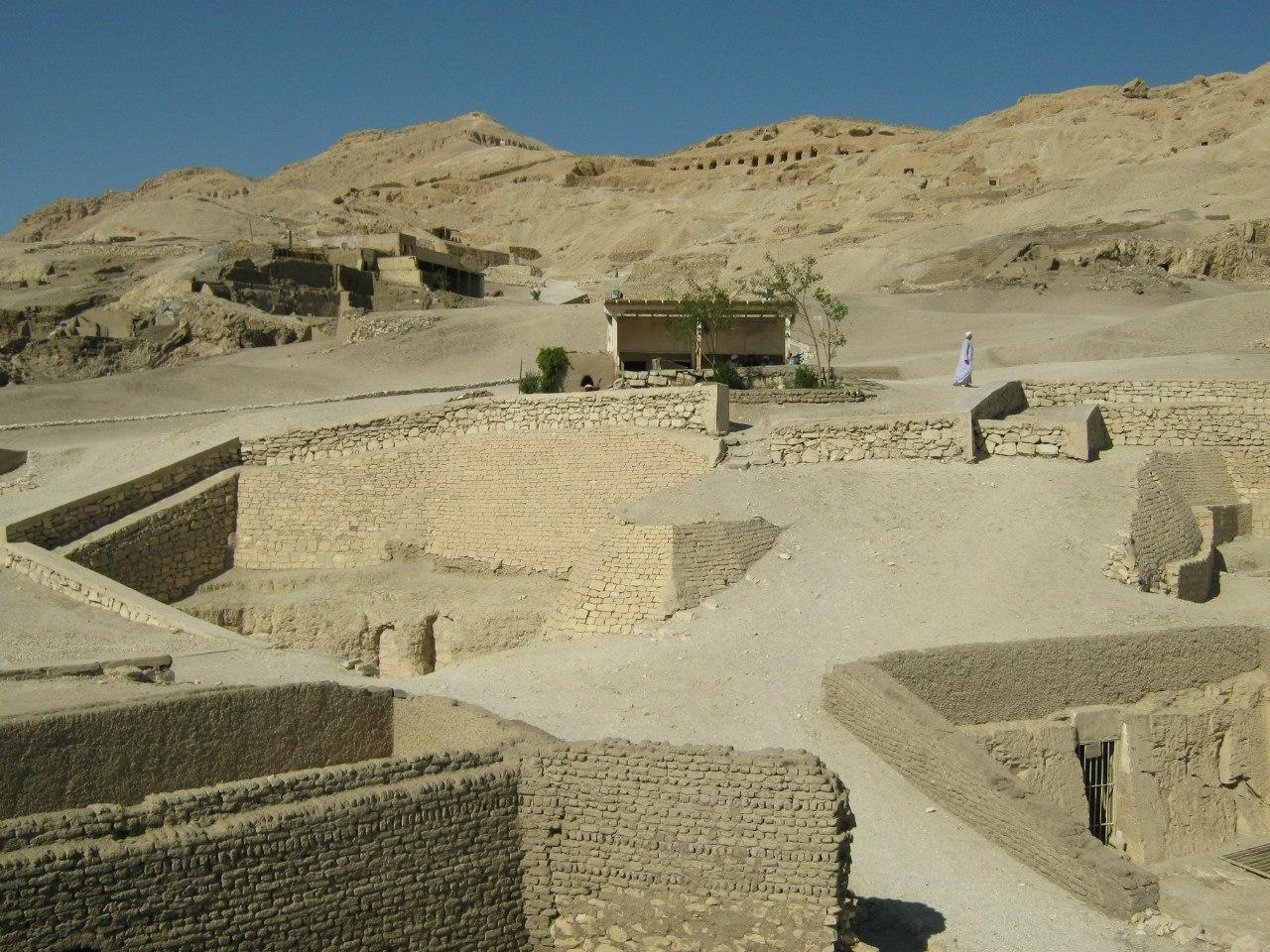 Гробницы знати в Луксоре
