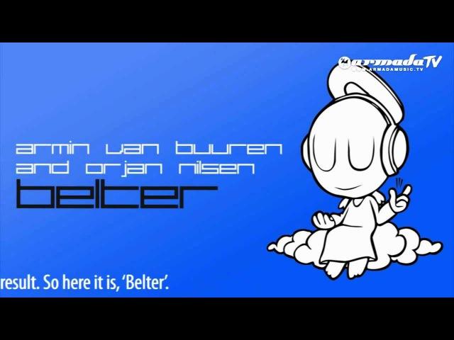 Armin van Buuren Orjan Nilsen - Belter (Original Mix)
