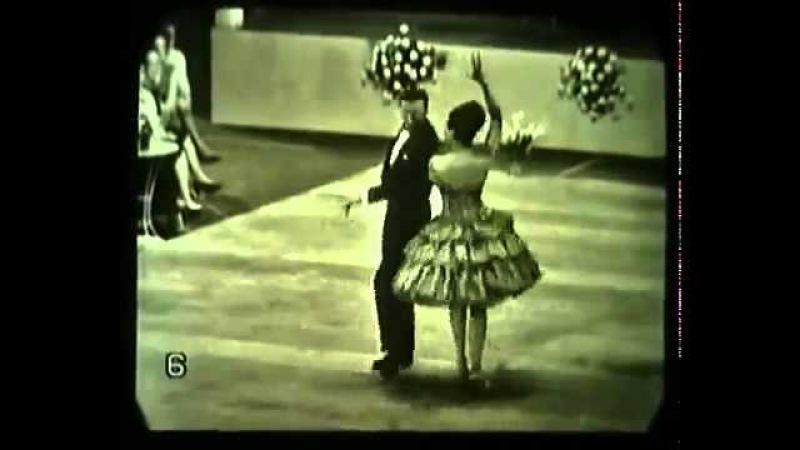 Walter Laird Lorraine Reynolds World Latin Dance Champions 1963 Paso Doble