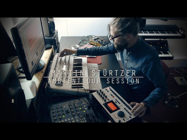 Ambient Dub Techno session with Moog, Virus, DX7, Machinedrum