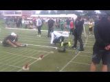Asafa Powell Start Stawell 2013