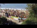 INDIA.Goa Psytrance party on Arambol beach in Goa. Jan 2006.