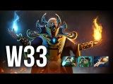 w33 Invoker Pro Gameplay   The Summit 2 Dota 2