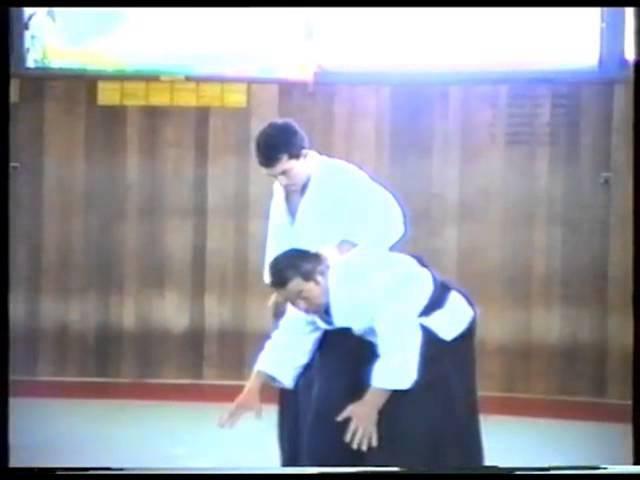 Saito Sensei - Ushiro Eridori (8th form - Eri dori) aikido