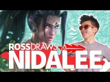 RossDraws: NIDALEE!! (league of legends)