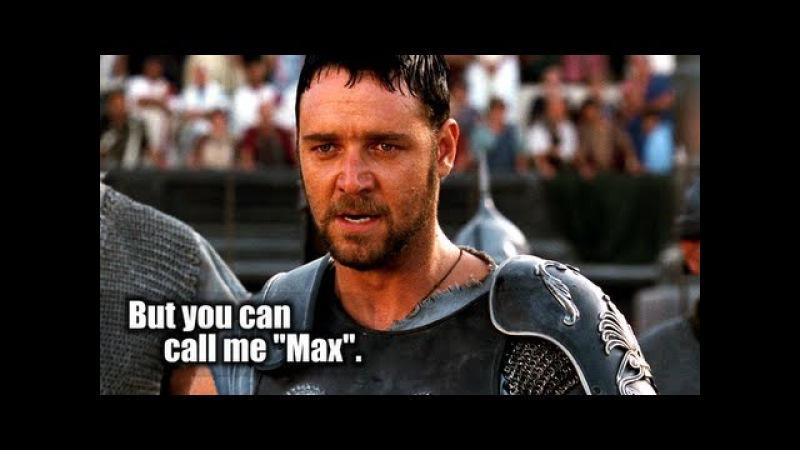 My name is Maximus Decimus Meridius Decimus Maximus Meridius Decimus Meridius Maximus [...]