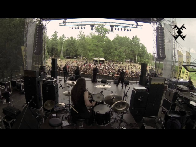 HORNA - Black Metal Sodomy Live at Kilkim Žaibu 2013
