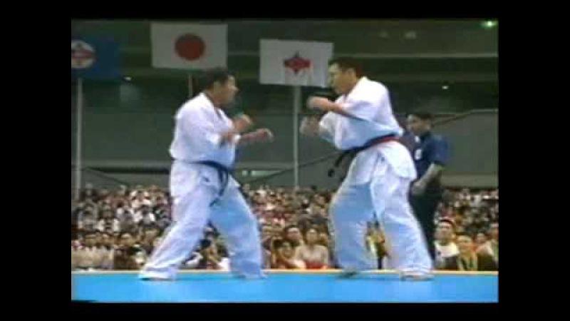 Kyokushin Kiyama Hitoshi vs Kazumi Hajime Final