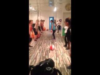 Как проходят групповые занятия в фитнес клубе MARAFET
