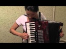 "Урок игры на аккордеоне ""Калинка"""