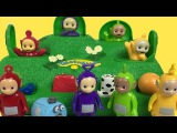 Teletubbies Magic Hill Pop Up Kids Toy Playset Lala Dipsy Tinky Winky Po Noo-Noo