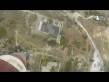 Прыжки с Трубы 126 метров в Запорожье с