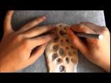 SONA Lab #1. The basic polymer clay Sona-bangle.