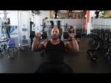Мастер-класс Victor Martinez. Тренировка дельтовидных мышц..