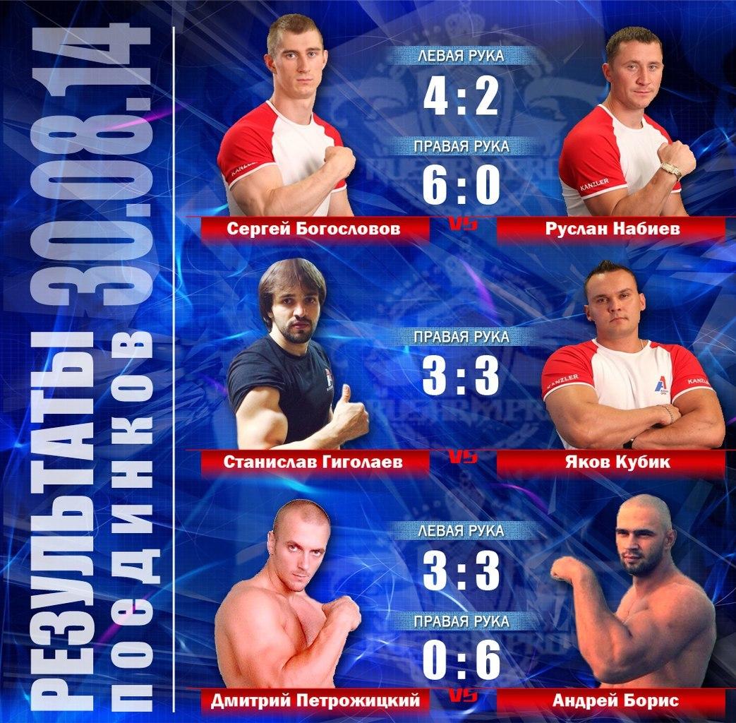 RUSARM.PRO ARMFIGHTS - Russian Armwrestling, Ivan Matyushenko referee │ Image Source: RUSARM.pro