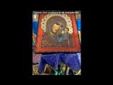 «Чтение акафиста и освящение воды» под музыку Православные песнопения - Царице моя преблагая. Picrolla