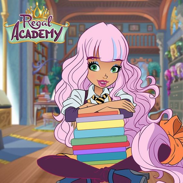 Da royal a regal academy page 3 for Disegni da colorare regal academy