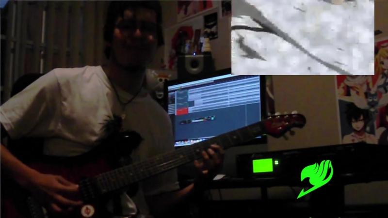 Gokukoku no Brynhildr 極黒のブリュンヒルデ OP Opening Guitar cover